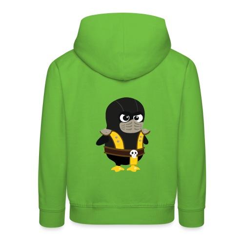 Pingouin Mortal Scorpion - Pull à capuche Premium Enfant