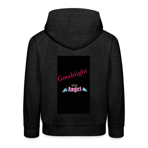 goodnight Angel Snapchat - Kids' Premium Hoodie