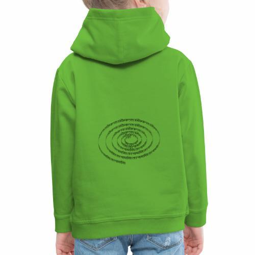 spiral tattvamasi - Kinder Premium Hoodie