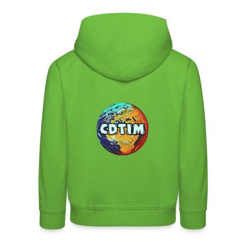 Cdtim - Felpa con cappuccio Premium per bambini