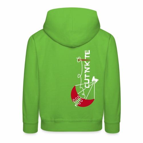 CuT n KiTe - Felpa con cappuccio Premium per bambini