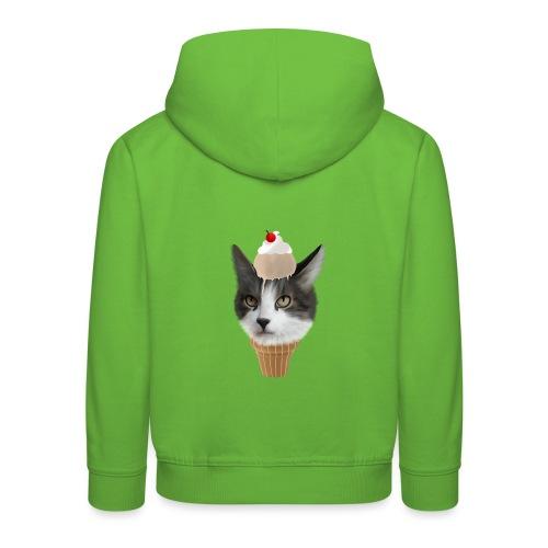 Ice Cream Cat - Kinder Premium Hoodie