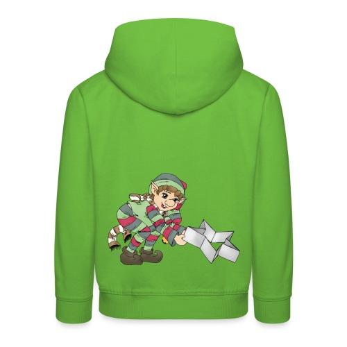 Weihnachtswichtel - Kinder Premium Hoodie