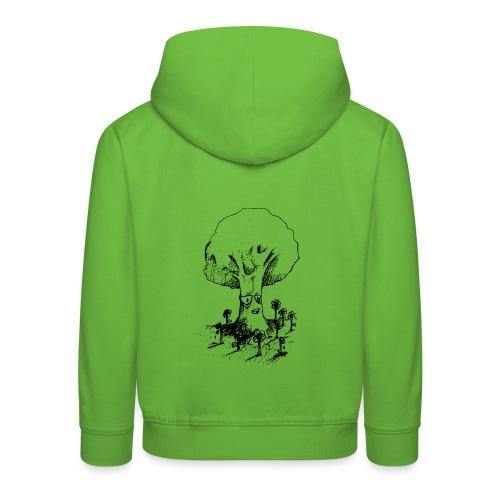 Sage Tree - Kids' Premium Hoodie
