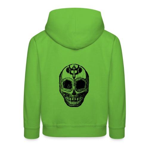 Skull of Discovery - Kids' Premium Hoodie