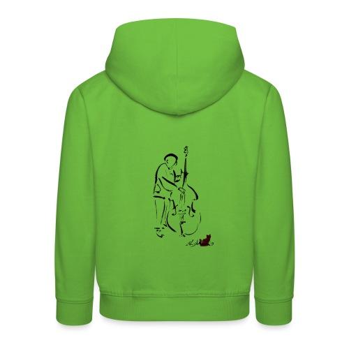 CONTRABBASSISTA - Felpa con cappuccio Premium per bambini