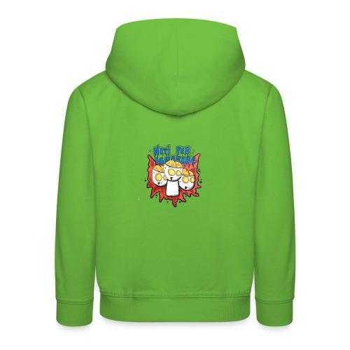 Natiperignorare - Felpa con cappuccio Premium per bambini