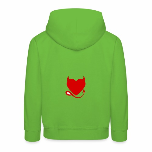 diablita - Sudadera con capucha premium niño