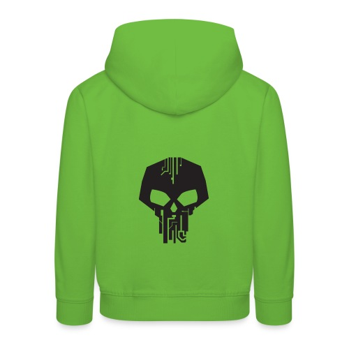 Sneaki Skull Logo - Kids' Premium Hoodie