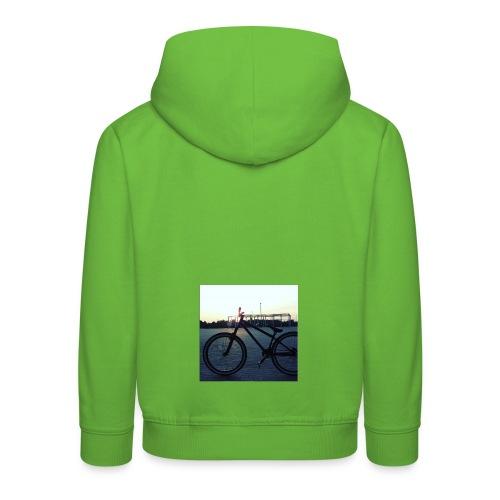 Motyw 2 - Bluza dziecięca z kapturem Premium