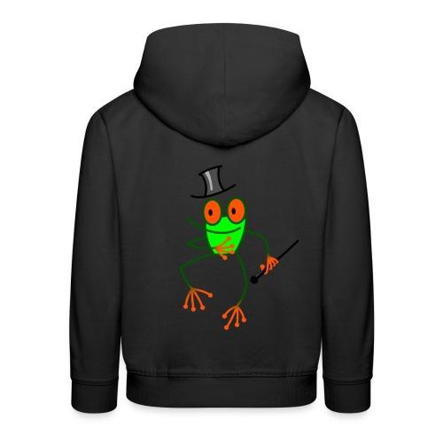 Dancing Frog - Kids' Premium Hoodie