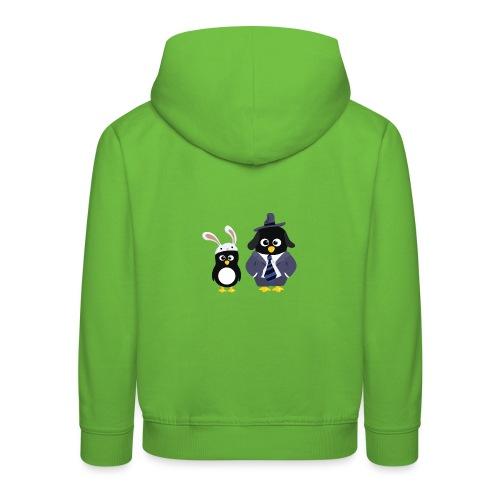 Pingouins and Max - Pull à capuche Premium Enfant