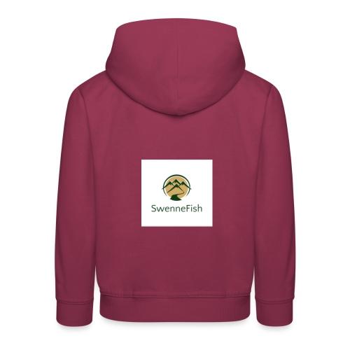 Logo 25 - Kinderen trui Premium met capuchon