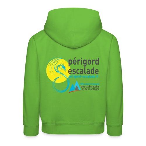 Périgord Escalade - Pull à capuche Premium Enfant