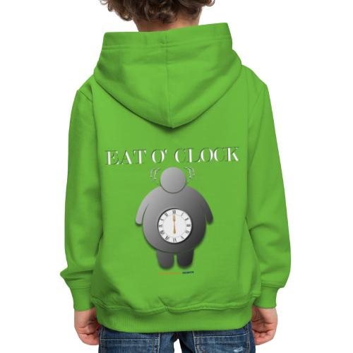 Eat o clock tshirt - Pull à capuche Premium Enfant