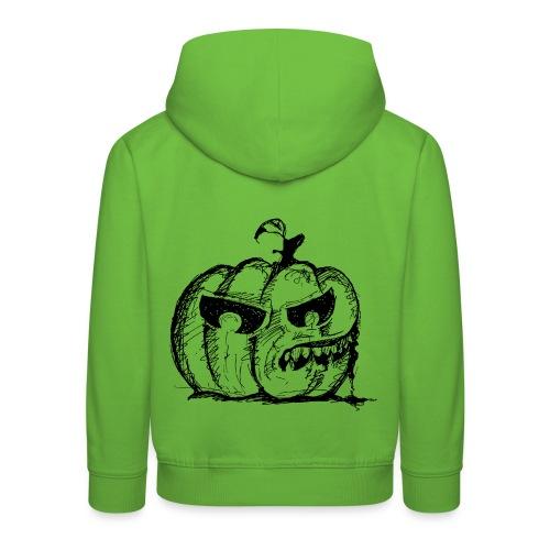 Pumpkin Terror - Kids' Premium Hoodie