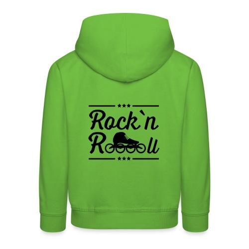 Rockn Roll Speedskating - Kinder Premium Hoodie