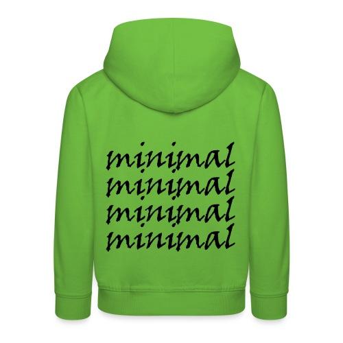 Minimal Design - Kinder Premium Hoodie
