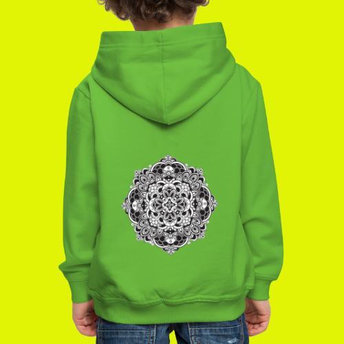 Mandala - Felpa con cappuccio Premium per bambini