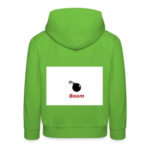 Bomba - Bluza dziecięca z kapturem Premium