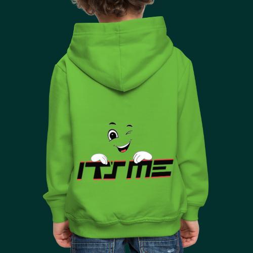 Faccia che ride - Felpa con cappuccio Premium per bambini
