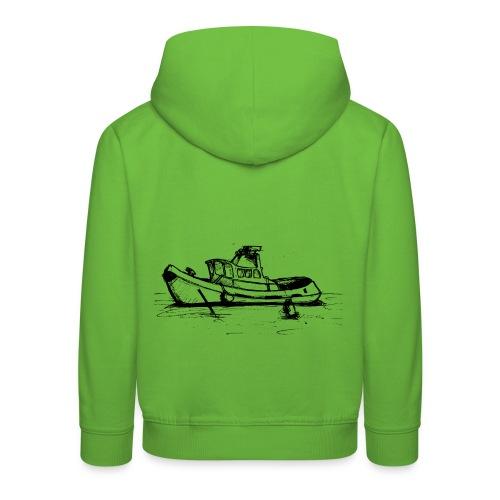 Uk Thames Boat - Kids' Premium Hoodie