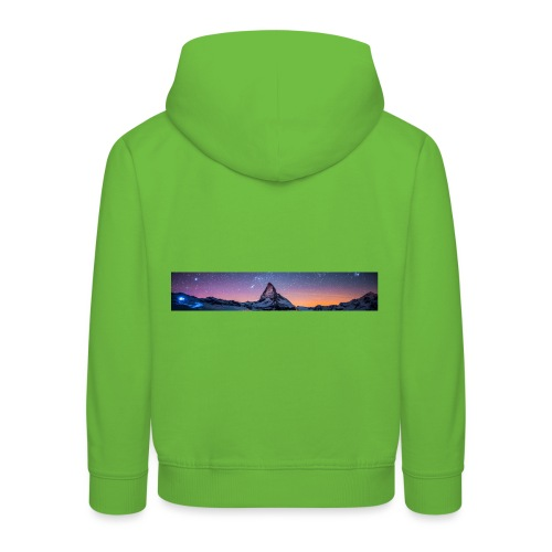 Mountain sky - Kinder Premium Hoodie
