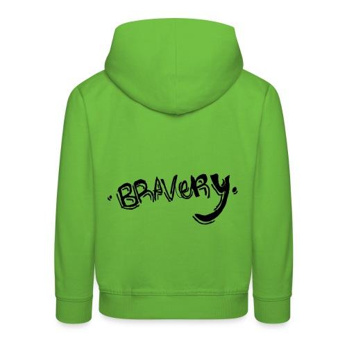 Bravery - Kids' Premium Hoodie
