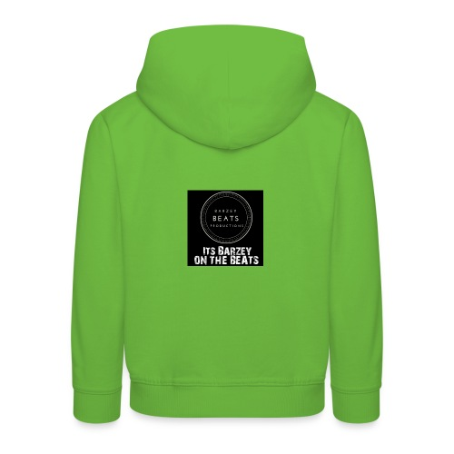 Its Barzey on the beats - Kids' Premium Hoodie