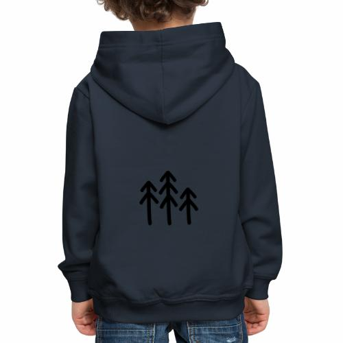 RIDE.company - just trees - Kinder Premium Hoodie