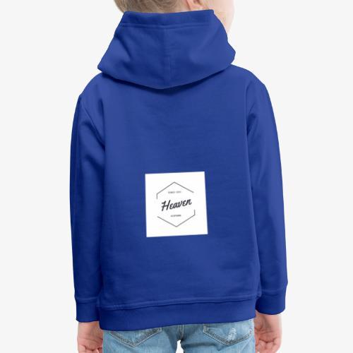 Heaven Since 1991 - Felpa con cappuccio Premium per bambini