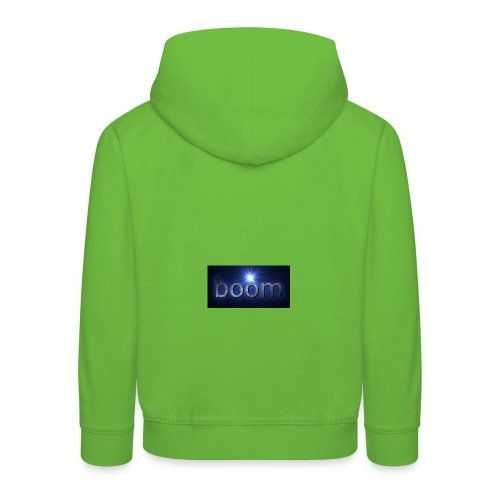 BOOOM - Bluza dziecięca z kapturem Premium