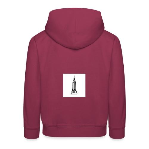Empire State Building - Pull à capuche Premium Enfant