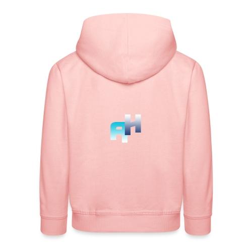 Logo-1 - Felpa con cappuccio Premium per bambini