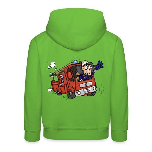 Feurian im Einsatz - Kinder Premium Hoodie