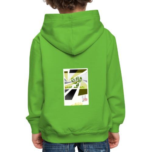 3D kaptus - Premium-Luvtröja barn