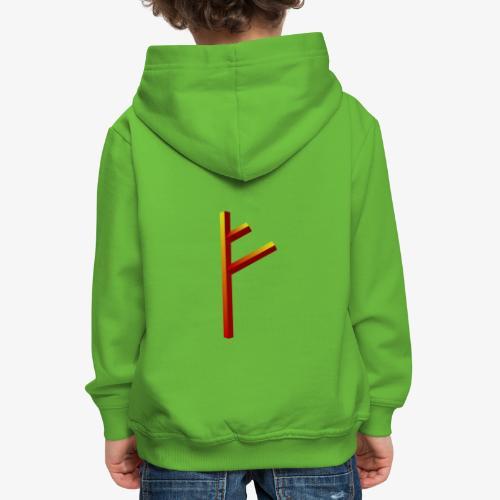 Rune Fehu - Kinder Premium Hoodie