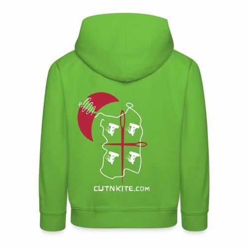SARDINIA - LessWorkMoreKite - Felpa con cappuccio Premium per bambini