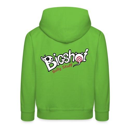 Bigshot Bully Stuff - Kinderen trui Premium met capuchon