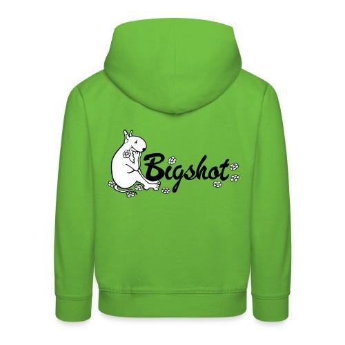 Bigshot Flowers - Kinderen trui Premium met capuchon