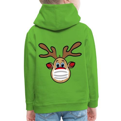 Ugly Xmas Rudi Reindeer mit Maske - Kinder Premium Hoodie