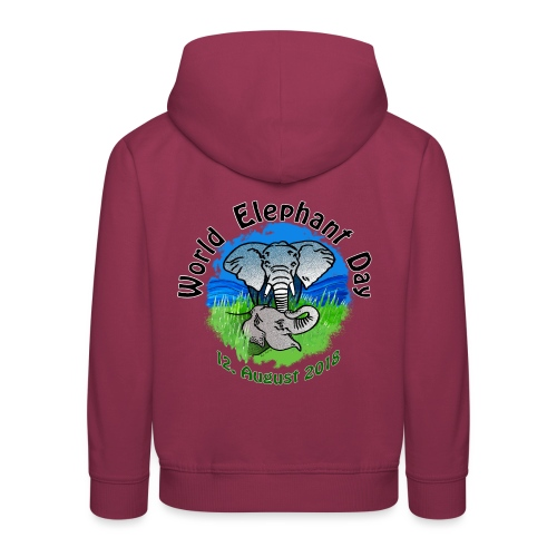 World Elephant Day 2018 - Kinder Premium Hoodie