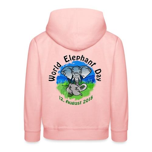 World Elephant Day 2018 - Kinder Premium Hoodie
