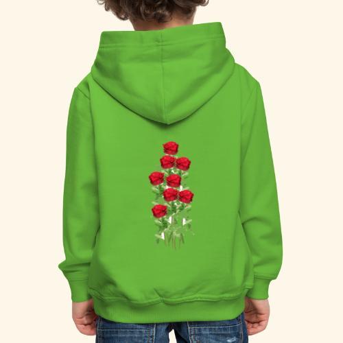 rote rosen - Kinder Premium Hoodie