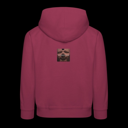 Why be a king when you can be a god - Kids' Premium Hoodie