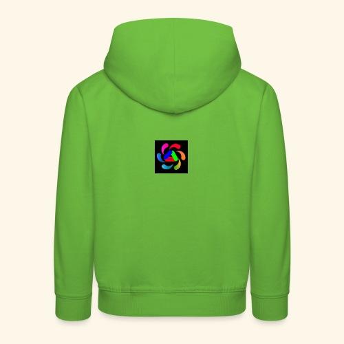 logo - Felpa con cappuccio Premium per bambini