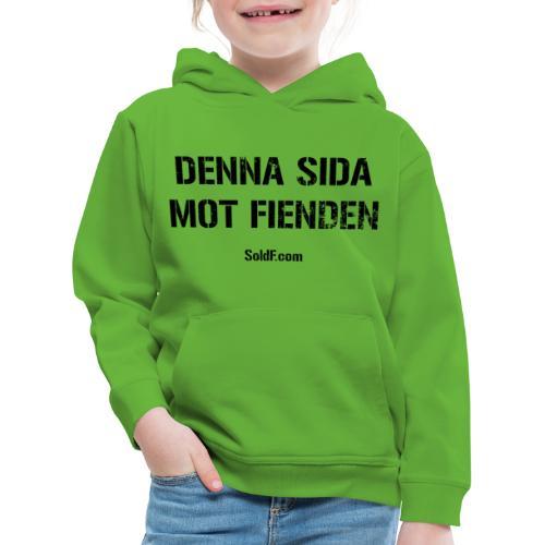 DENNA SIDA MOT FIENDEN (Rugged) + SWE FLAG - Premium-Luvtröja barn