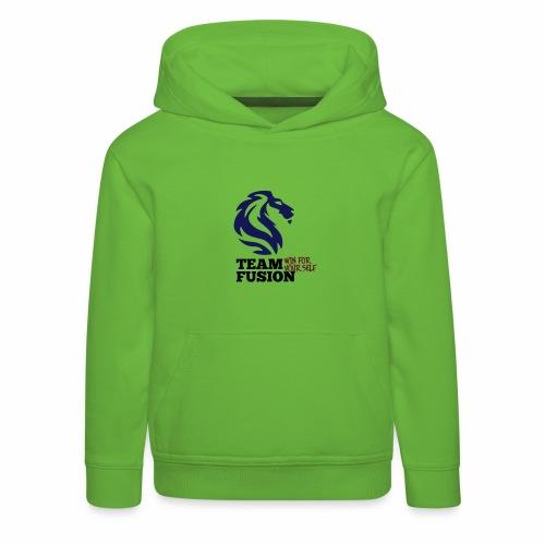 Team Mosso - Felpa con cappuccio Premium per bambini