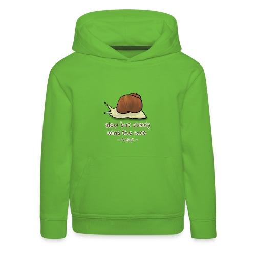 Snail - Kids' Premium Hoodie