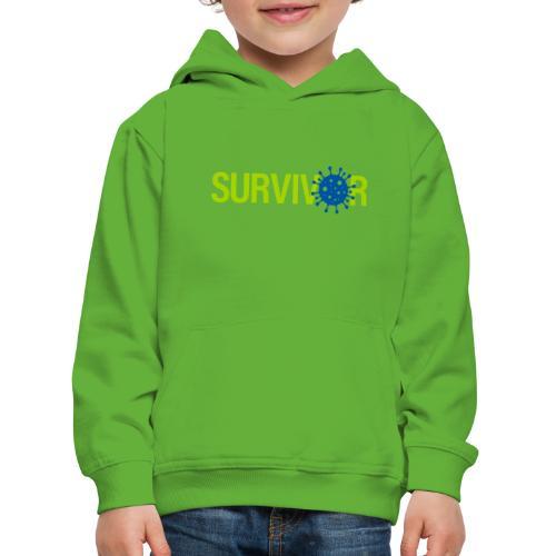 Corona Survivor - Kinderen trui Premium met capuchon